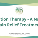flotation therapy natural pain relief